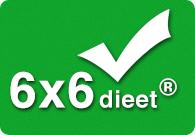 6×6 dieet